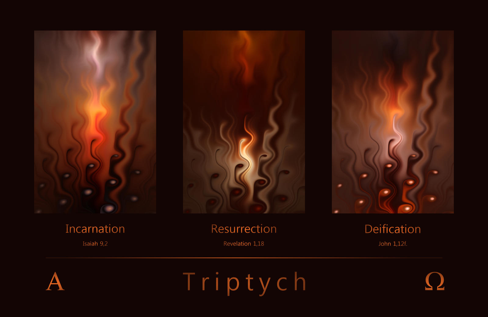 Triptych by FractalDesire