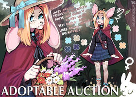 [OPEN] LITTLE RED RIDING HOOD ADOPTABLE AUCTION by whollysensei