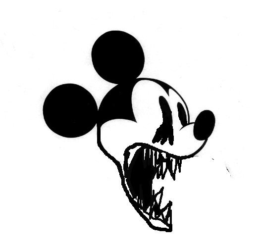 horrible mickey mouse by miguelito12