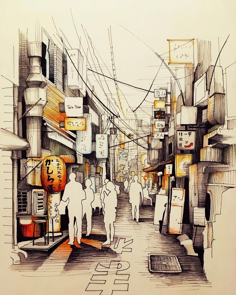 City of lights by soniGr