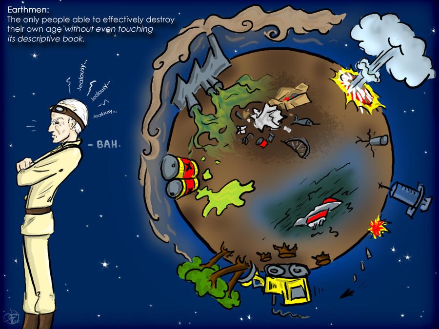 Earthmen...