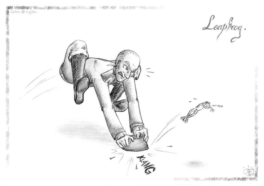 Leapfrog by Faeliscity