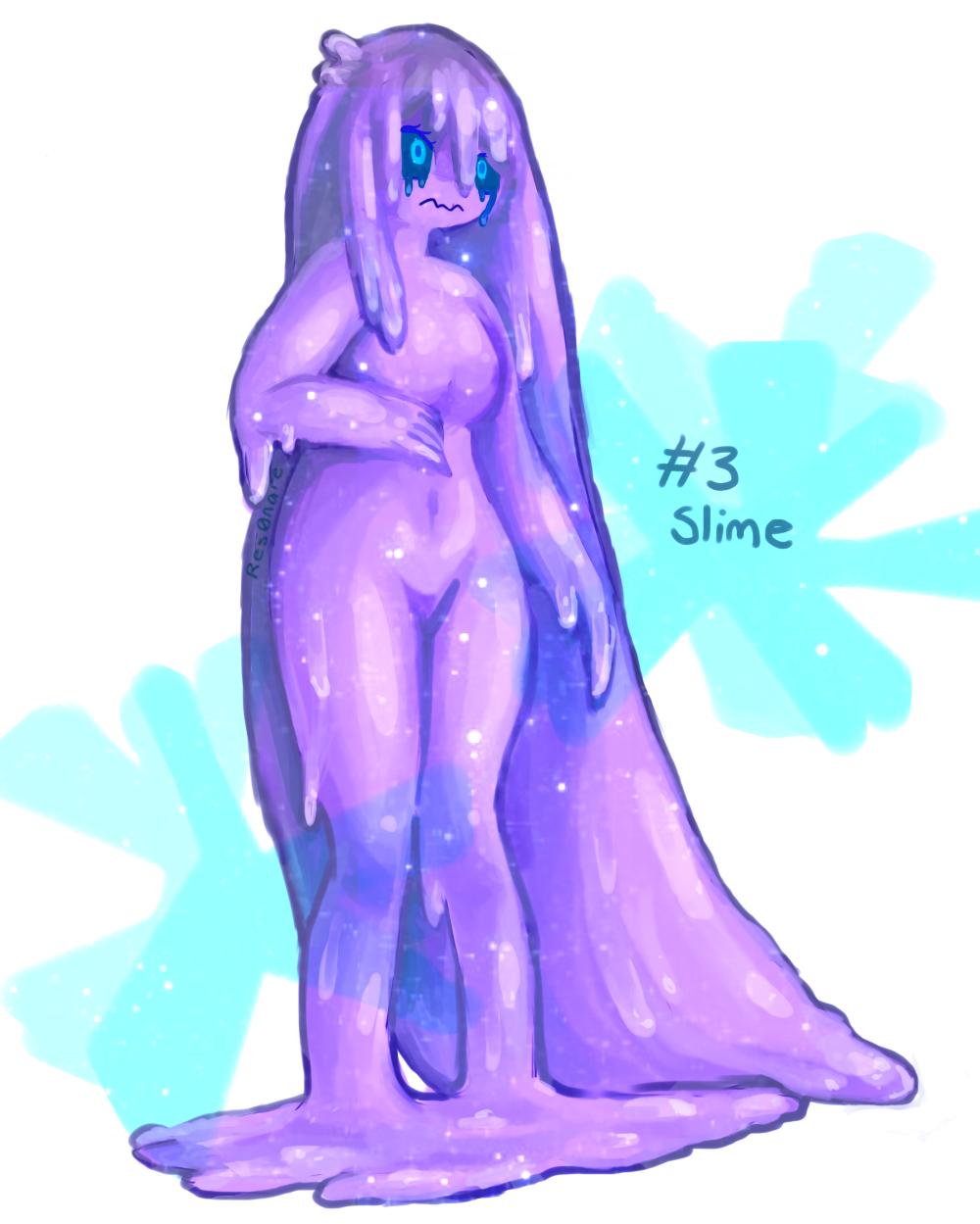 Monster girl slime nude image