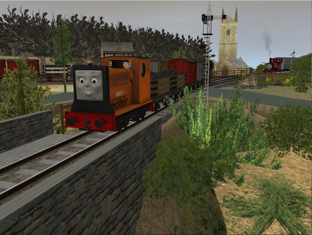 The Shed and Sidings Inspection Diesel by SkarloeyRailway