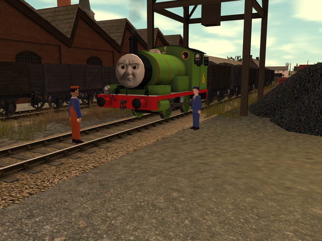 Percy Learns about Thomas' Accident by SkarloeyRailway