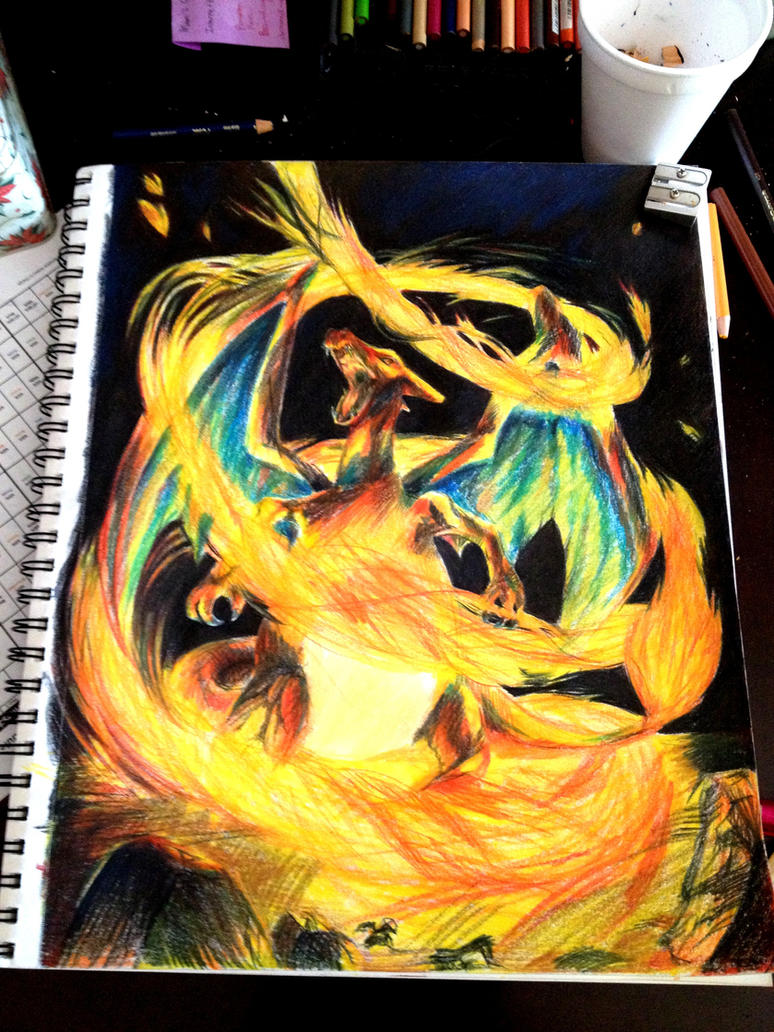Charizard by Riberry