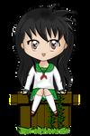 Com: Kagome - Chibi 1 by Squitopus