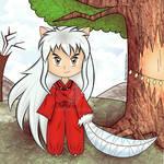 Com: Inuyasha - Chibi 1 by Squitopus