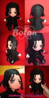 chibi Severus Snape plush version