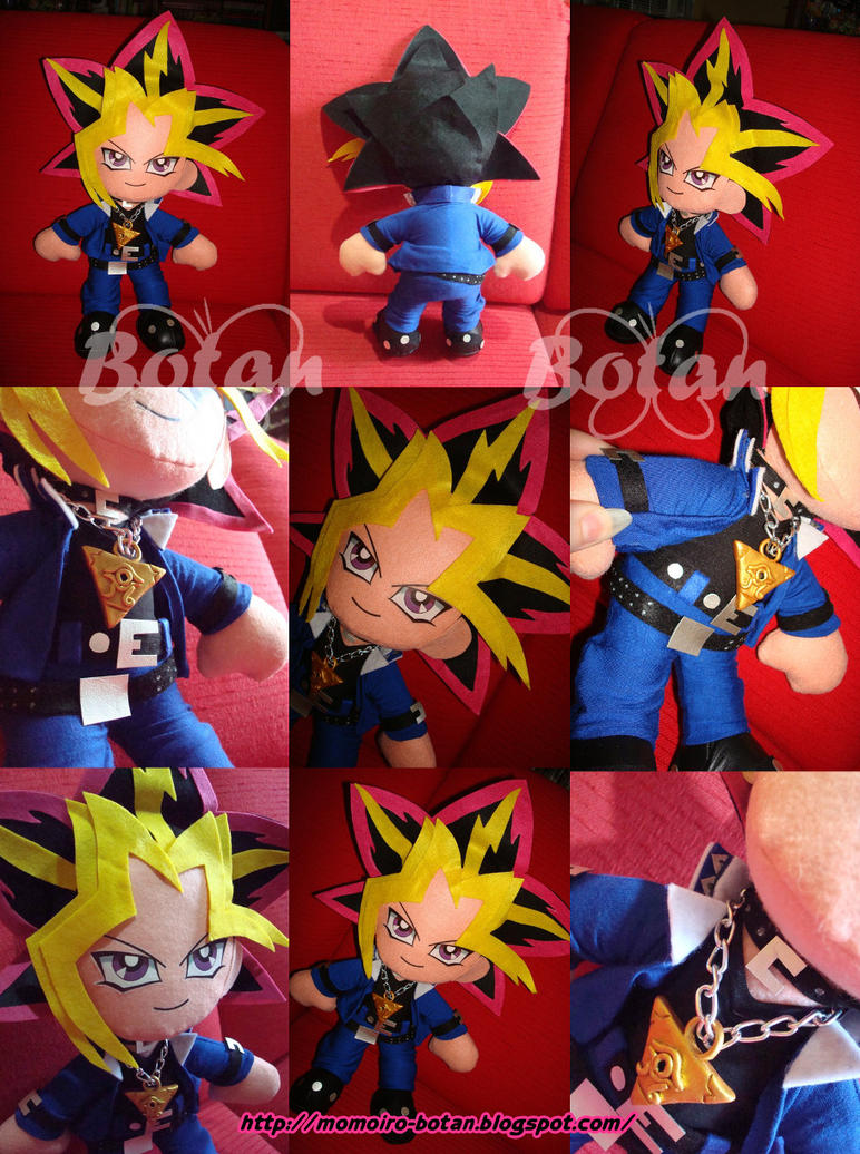 Yami Yugi plush version by Momoiro-Botan