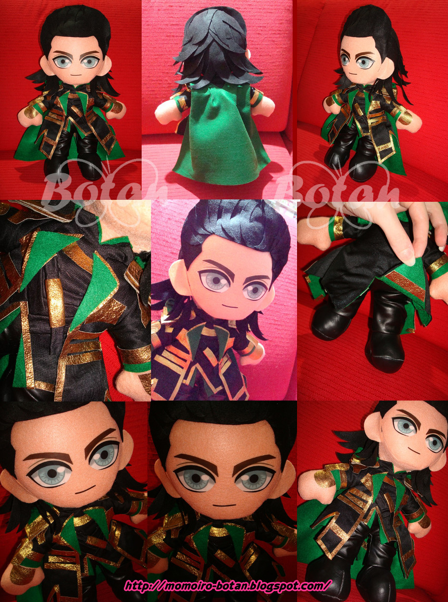 Loki plush version by Momoiro-Botan