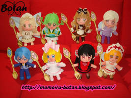 All Sweets Spirits plush version by Momoiro-Botan