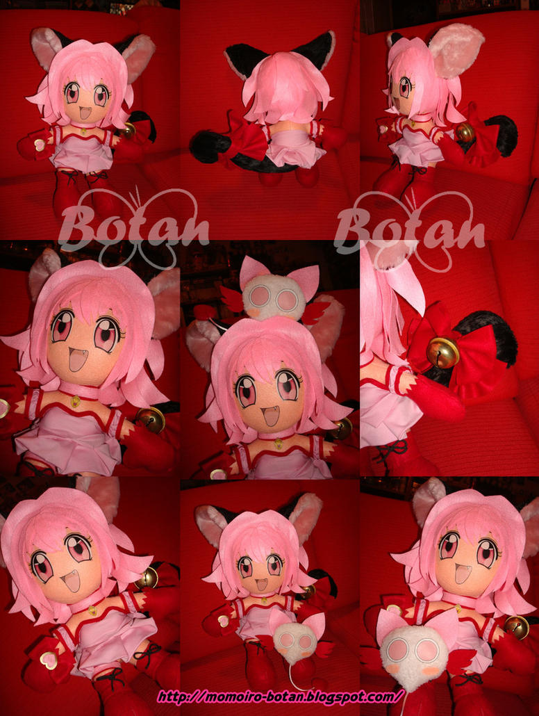 Mew Berry plush version by Momoiro-Botan