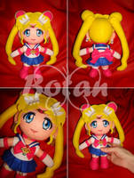 chibi Sailor Moon by Momoiro-Botan