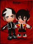 Keith and Shiro plushie!