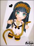 Cleopatra plushie! by Momoiro-Botan