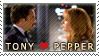 Tony x Pepper stamp