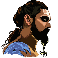 GAME OF THRONES: Khal Drogo by dannieburst