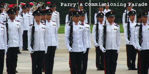 Parry's Commissioning Parade