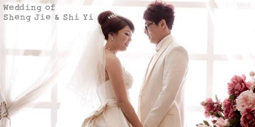 Wedding of SJ and SY