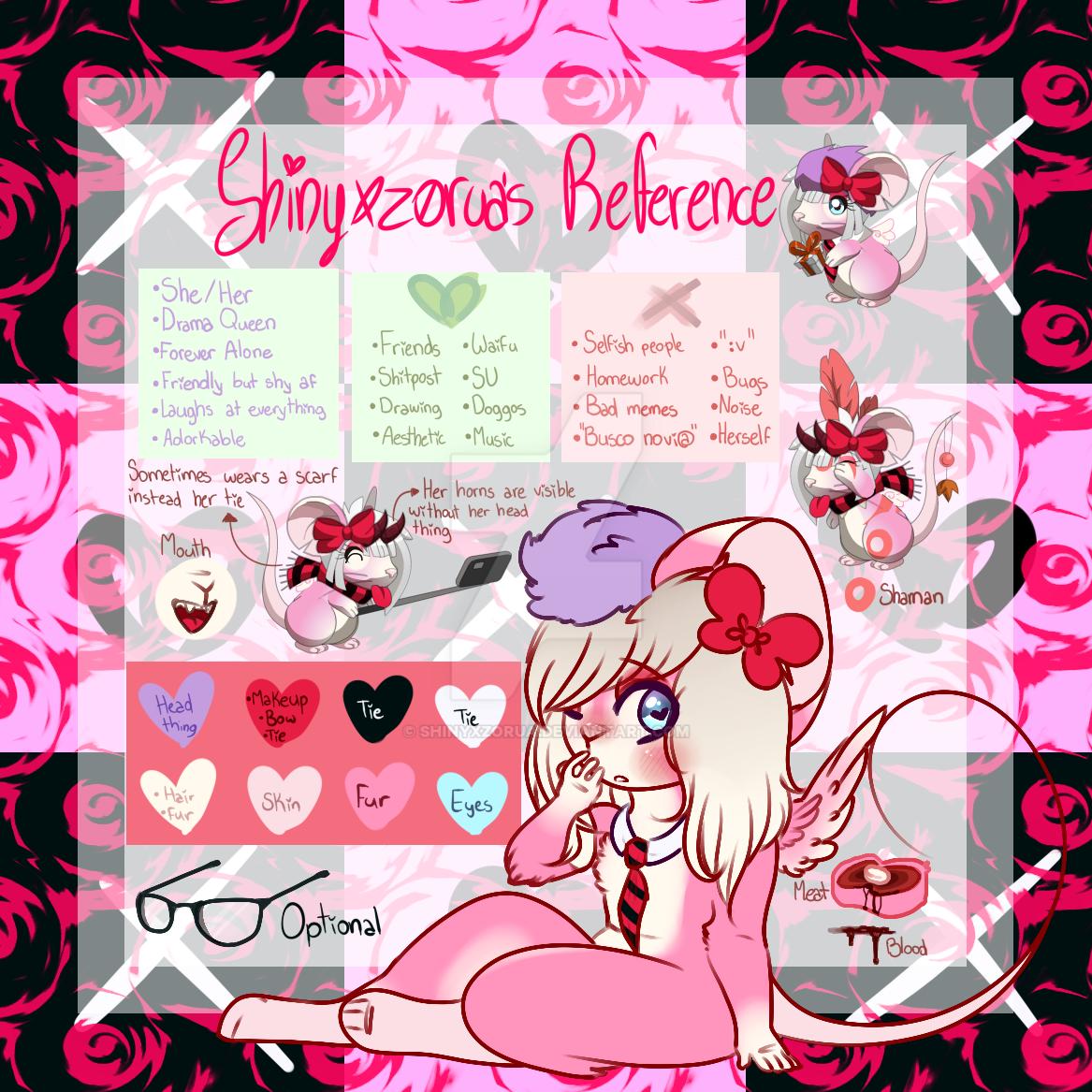 (Updated) Shinyxzorua's reference by Shinyxzorua