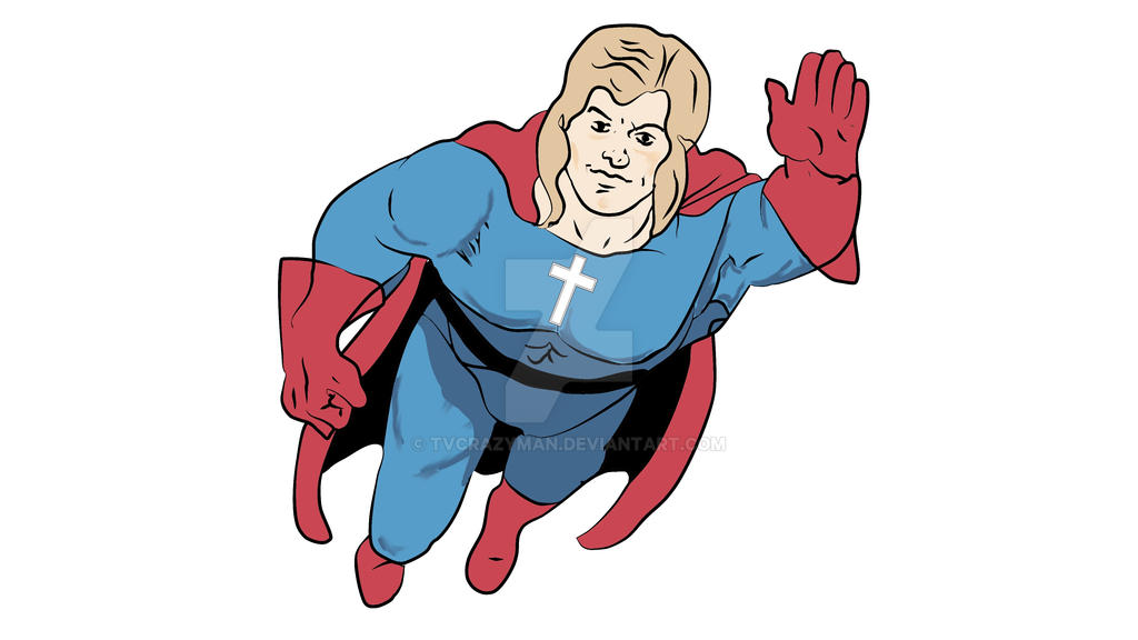 Seven Christian Superhero by tvcrazyman