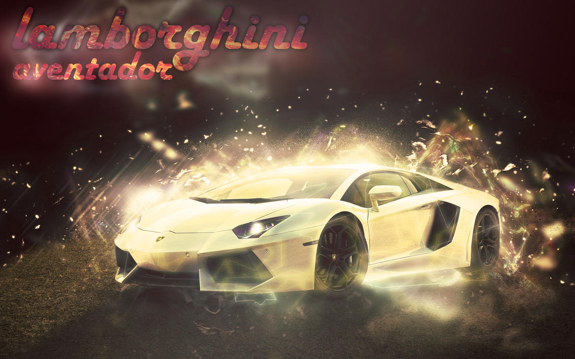 Wonderful LAMBORGHINI AVENTADOR ABSTRACT ART By Seabait ...