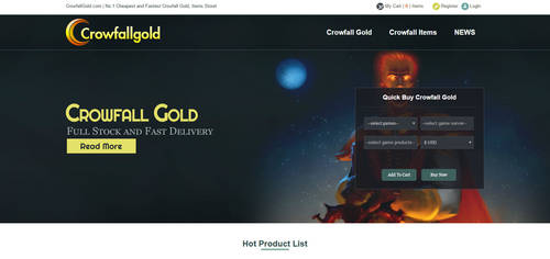 Buy Cheap and safe Crowfall Gold on CrowfallGold.c by CrowfallGold