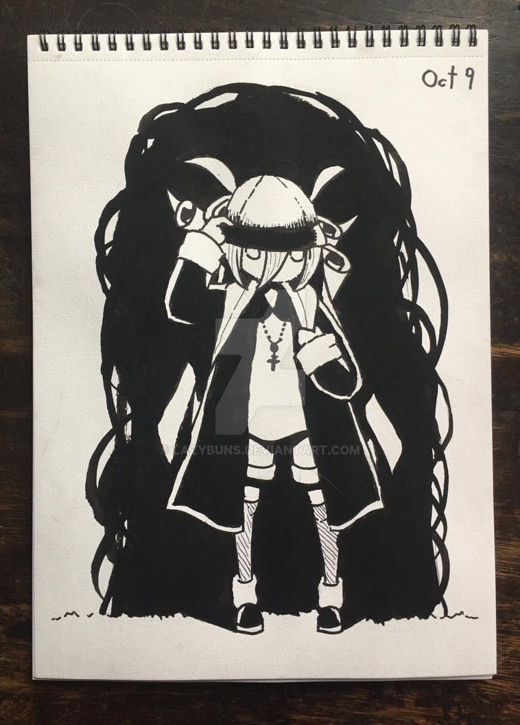Inktober Week Two by Lazybuns