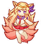 C  Ahri by Lazybuns