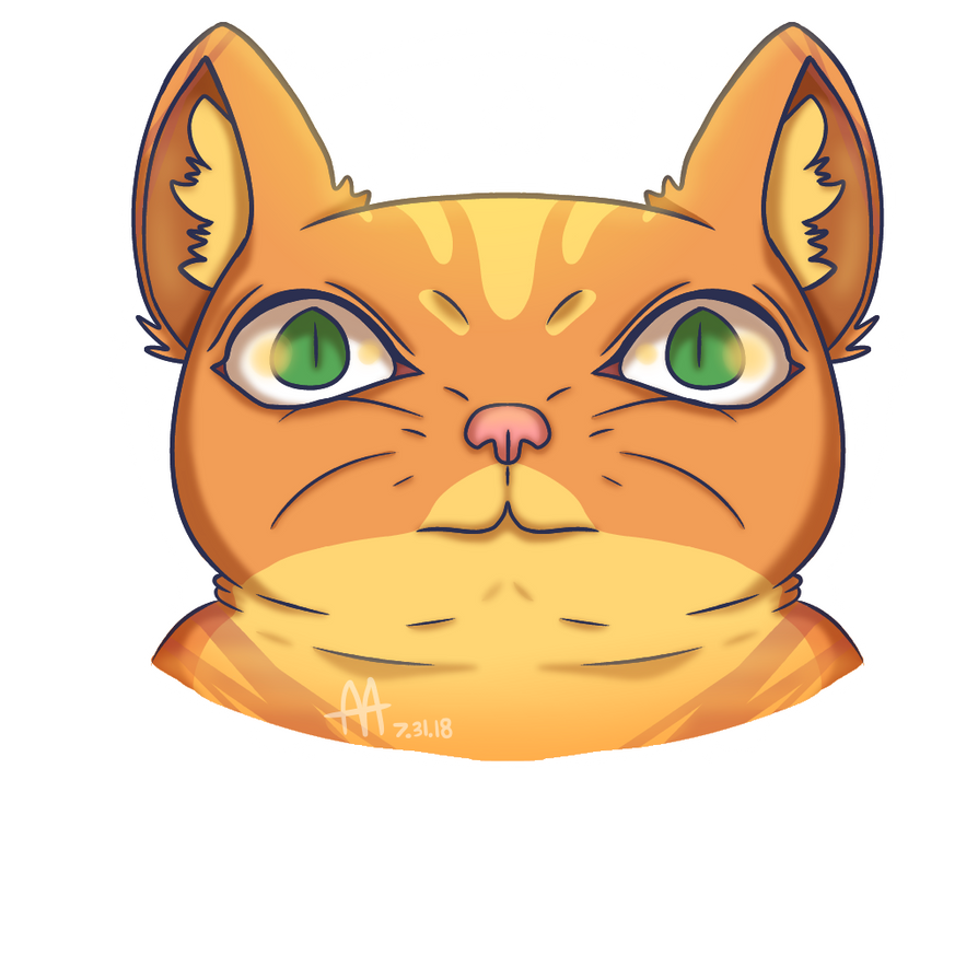Cat by WolfM2