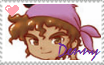 Harvest Moon Denny Love Stamp by DaMee-Momma