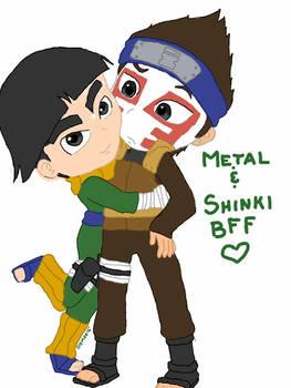 Metal and Shinki BFFs