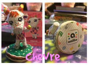 Animal Crossing New Leaf Amiibo - Chevre