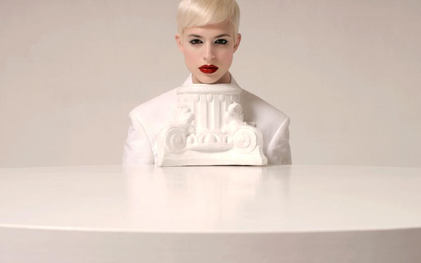 White 1 by Maurizio-Fantini