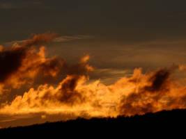 winter sundown 1 by Dieffi