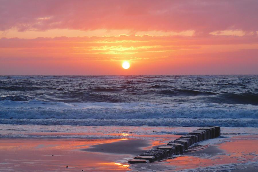 Sylt Sundown by Dieffi