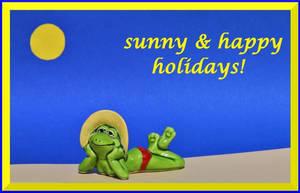 sunny holidays by Dieffi
