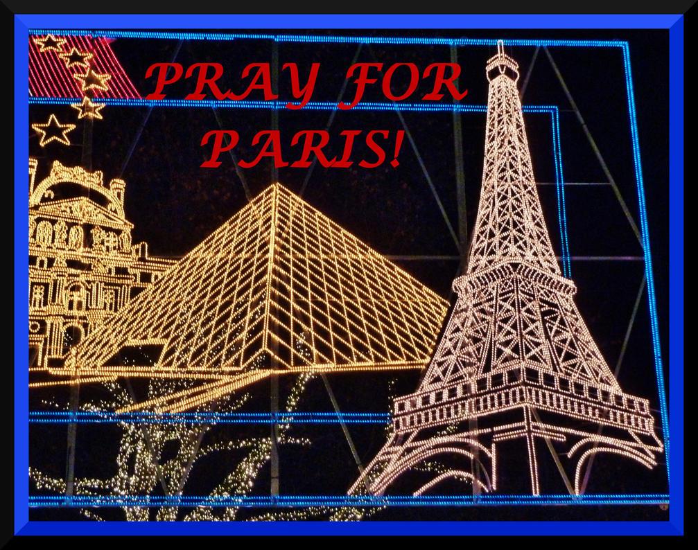 pray for Paris by Dieffi