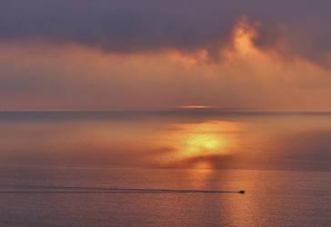 Mediterranean Sunrise by Dieffi