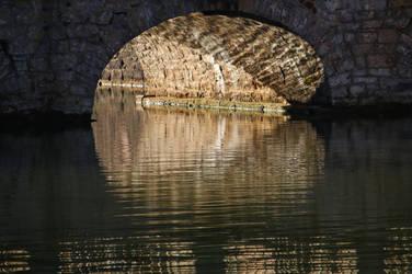 under the bridge by Dieffi