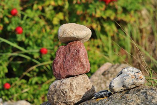 dry stones