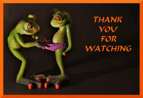 THANK YOU FOR WATCHING FROGLOVE