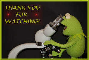 THANK YOU FOR WATCHING FROG MICROSCOPE