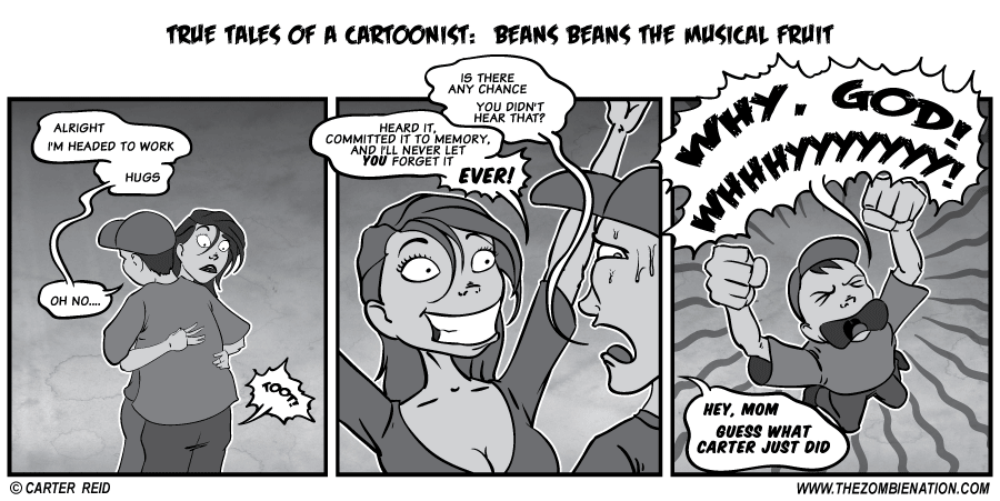 True Tales: Beans Beans the musical fruit by zombiecarter