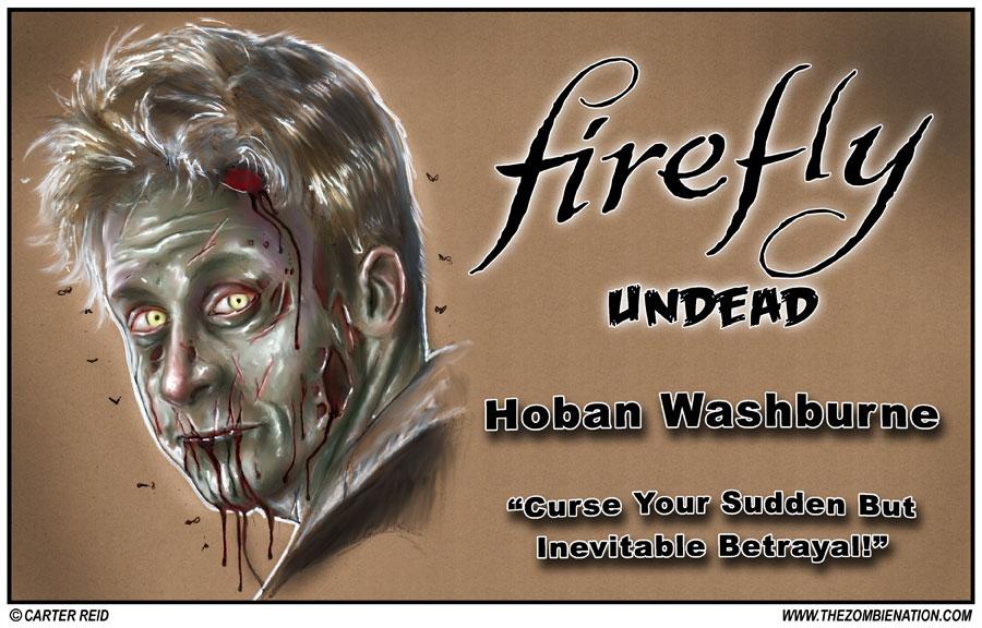 Hoban Washburne by zombiecarter