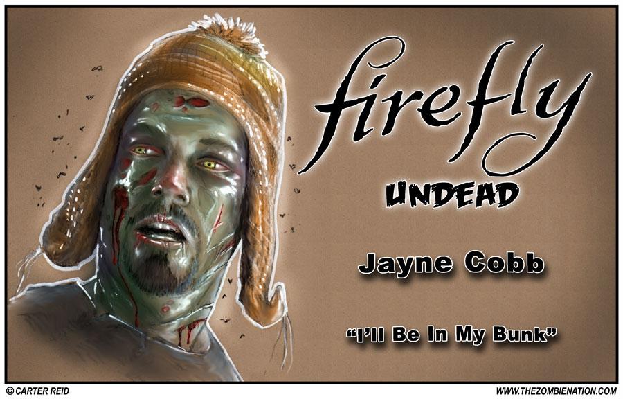 Jayne Cobb Zombified by zombiecarter