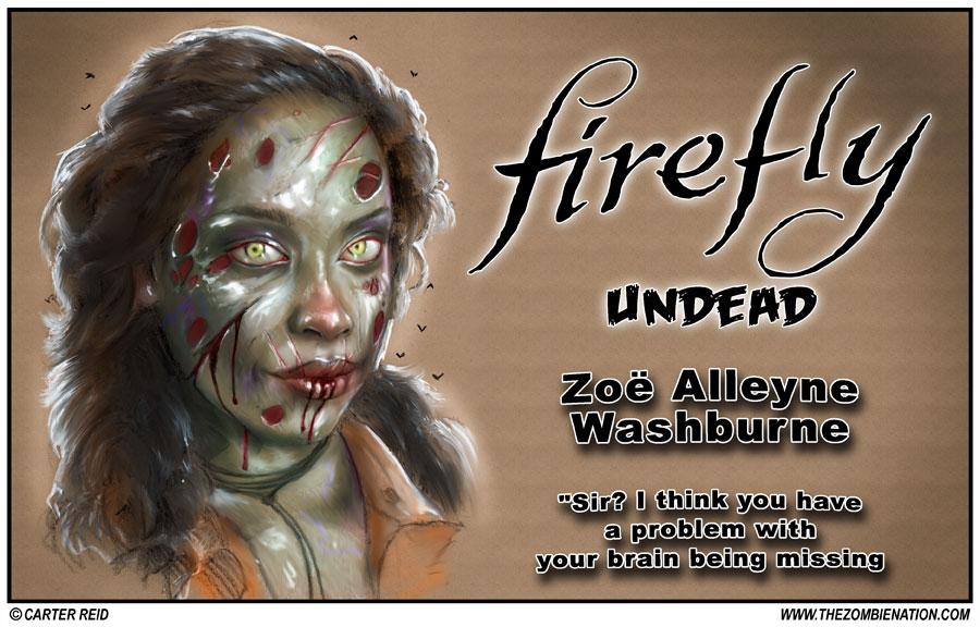 Zoe Alleyne Washburne by zombiecarter