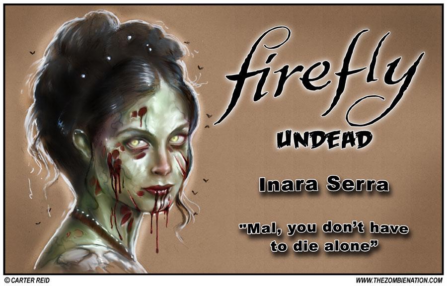 Inara Serra Zombified: Firefly Undead by zombiecarter