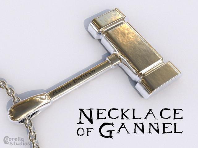 Necklace of Gannel by CorellaStudios